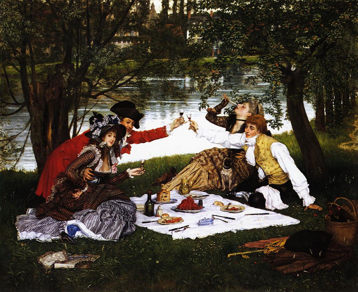 La Partie Carre-James Tissot